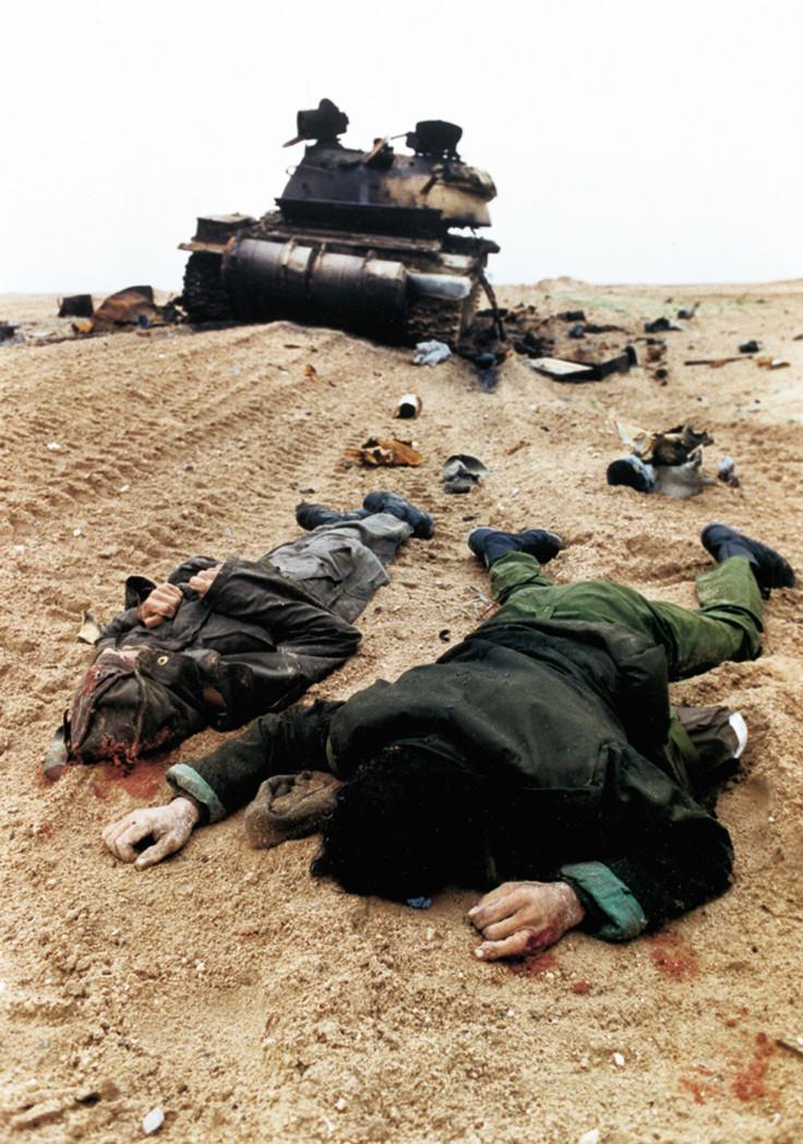 Gulf War iraq soldiers dead