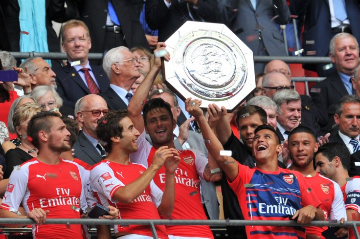 Arsenal win the Community Shield