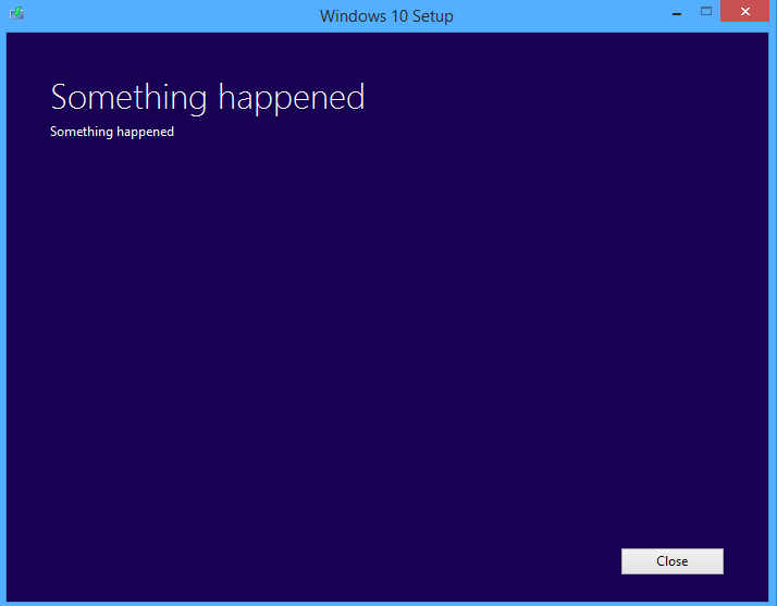 Windows 10 installation errors