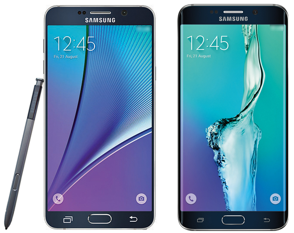 Samsung Galaxy Note 5, S6 Edge Plus