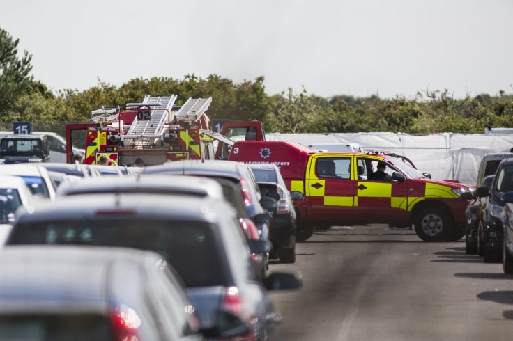 The site of the air crash inBlackbushe,