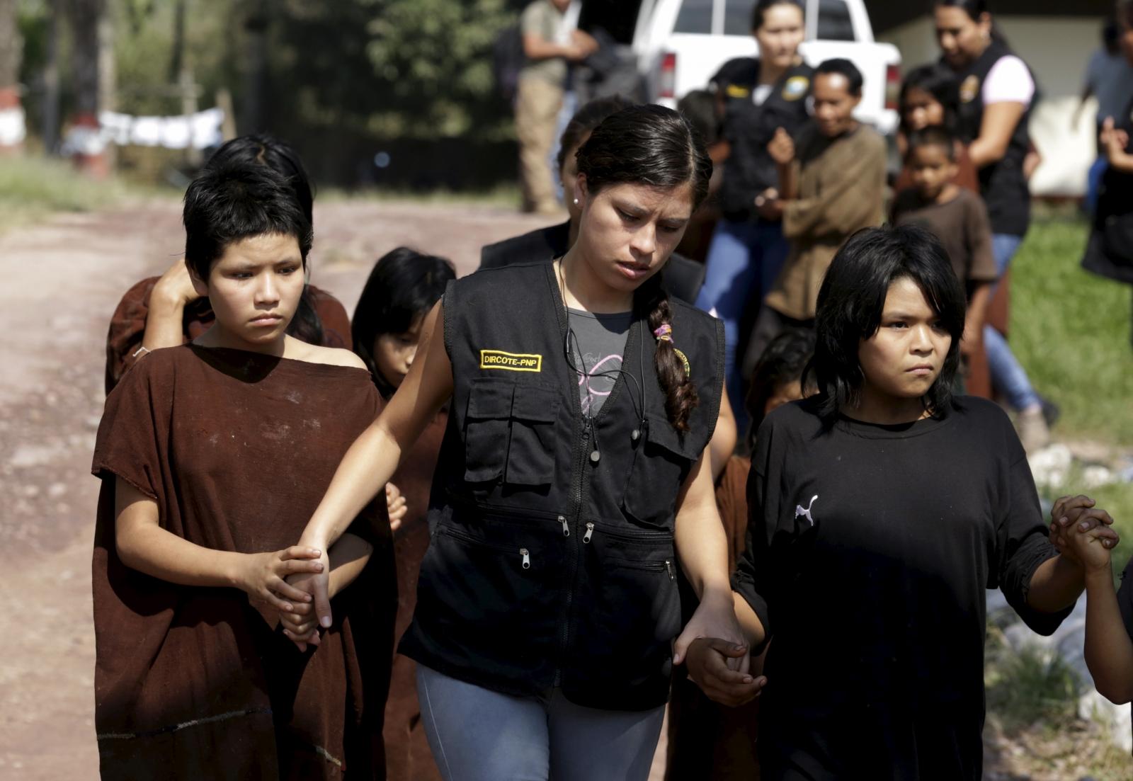 Shining Path Peru captives led to safety
