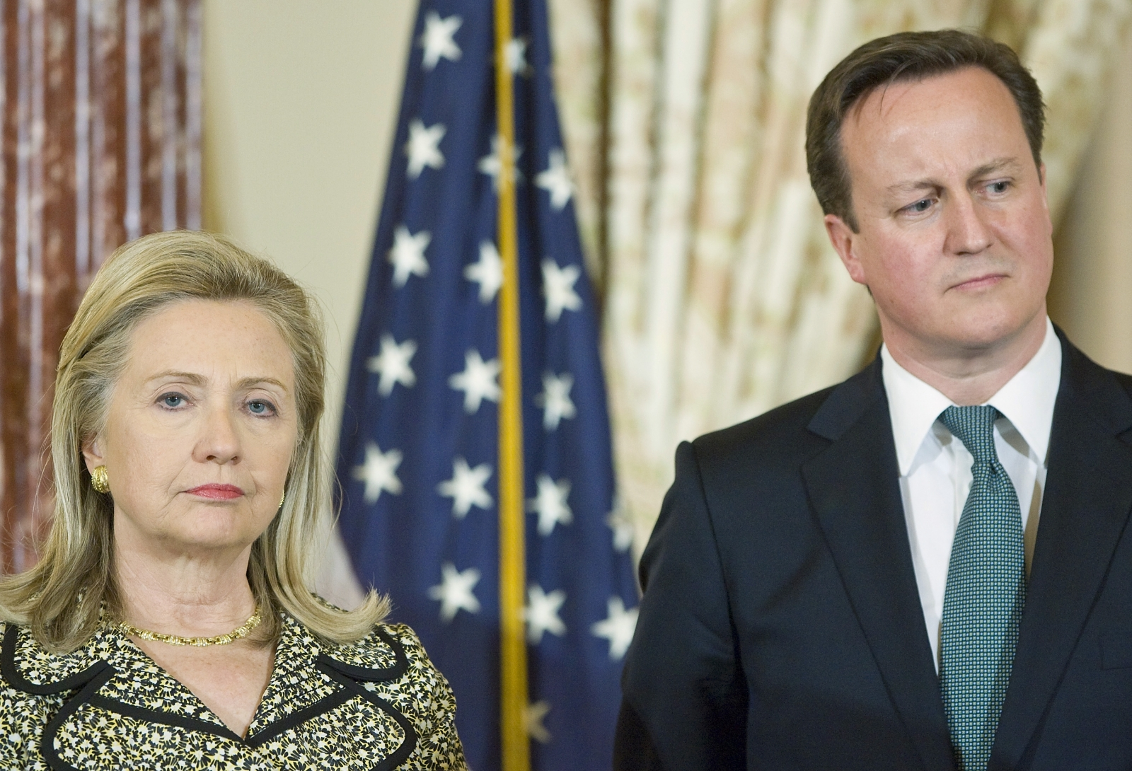 Hillary Clinton leaked mails of Cameron