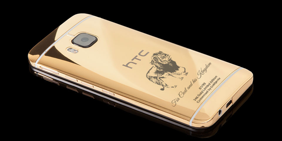 Cecil lion gold HTC One M9