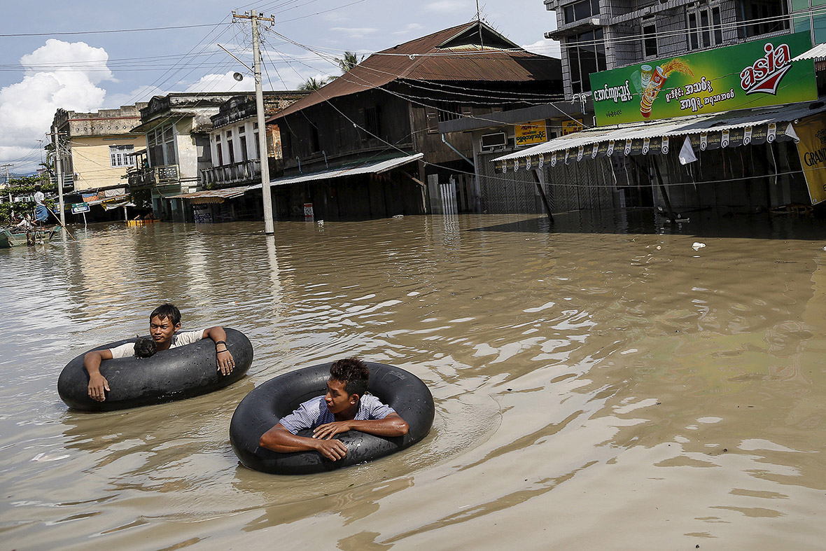 Myanmar Floods Death Toll Expected To Rise As Heavy