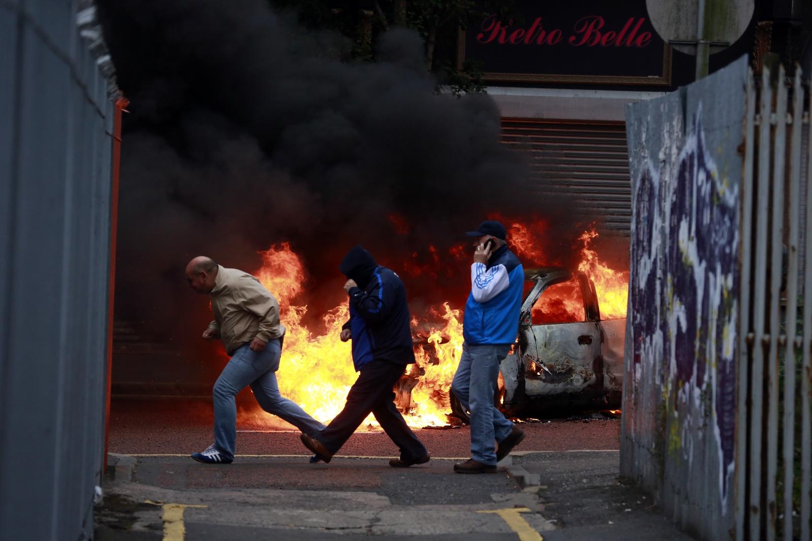 Demonstrations in Belfast 2013