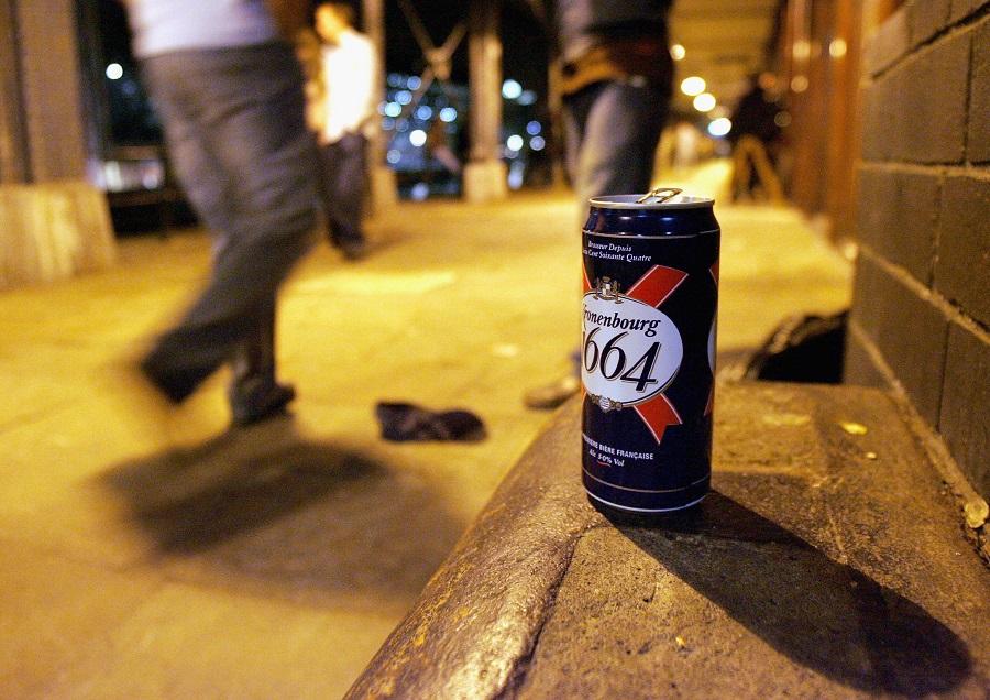 Street drinking