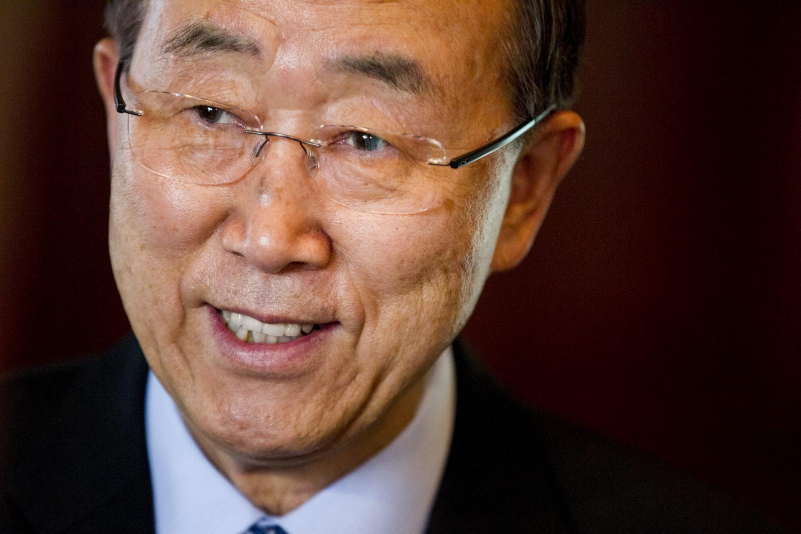 Ban Ki-moon poverty
