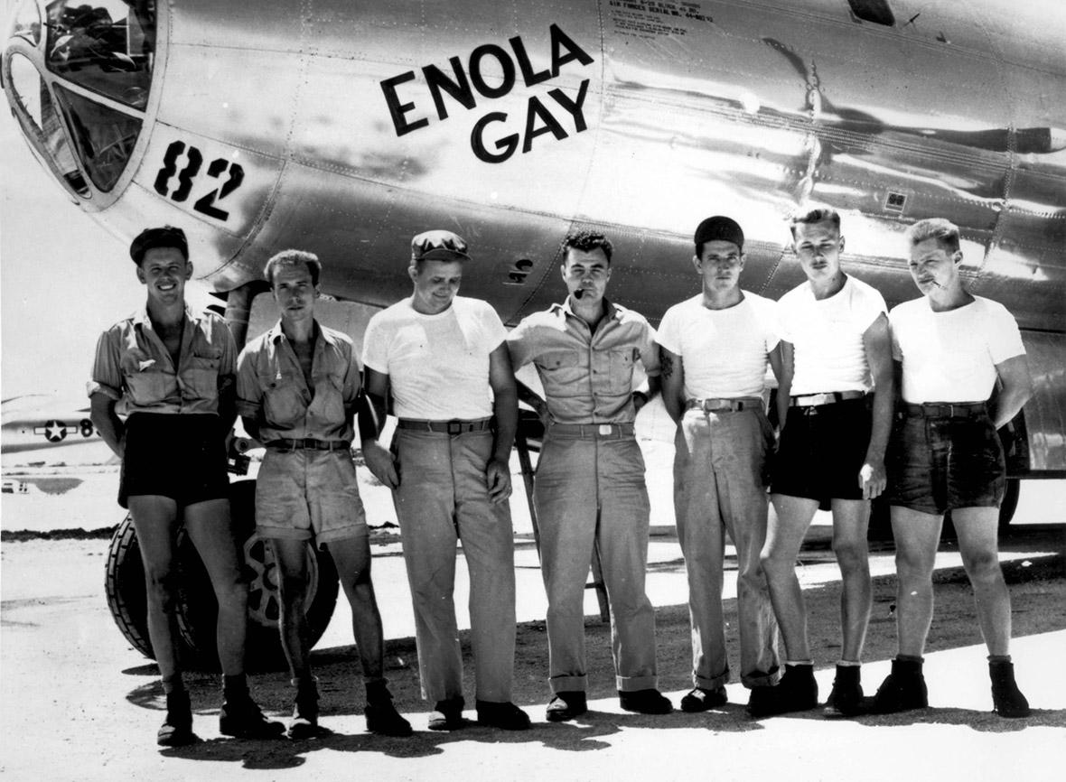 from Brecken enola gay world war ll crew