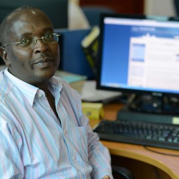 Esdras Ndikumana Burundi journalist