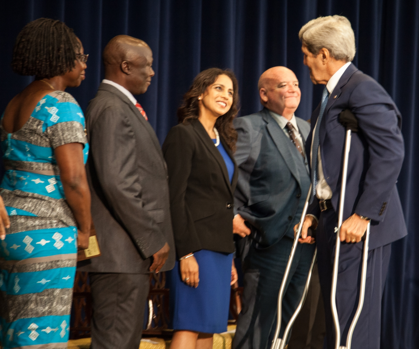Parosha Chandran John Kerry