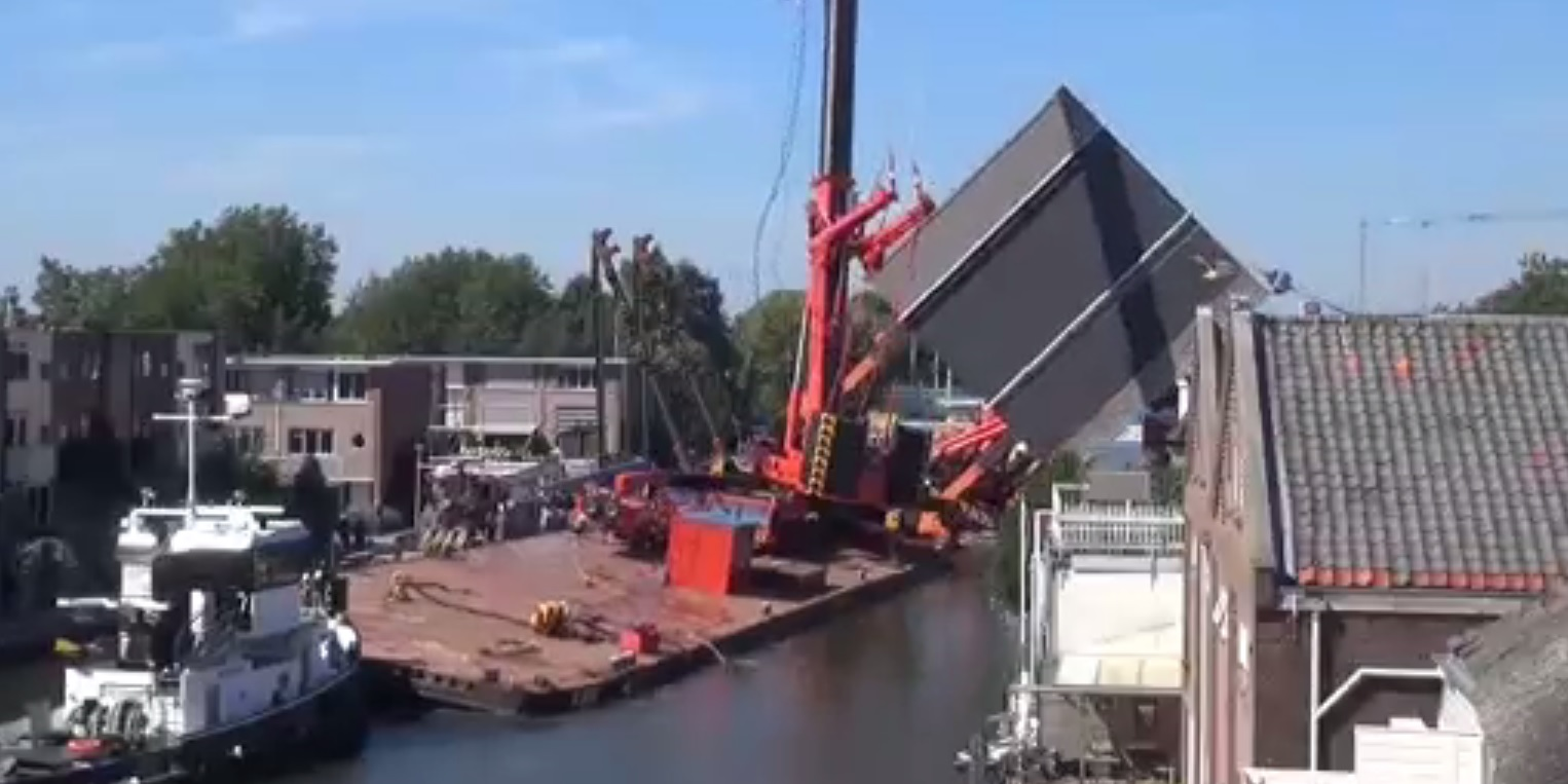 Netherlands crane collapse
