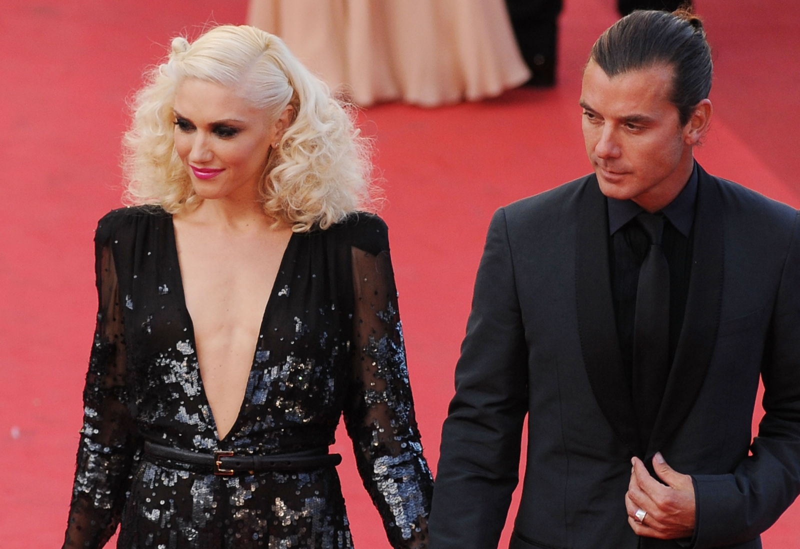 Gwen Stefani and Gavin Rossdale in Cannes2011