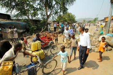 Burundi Musaga barricade
