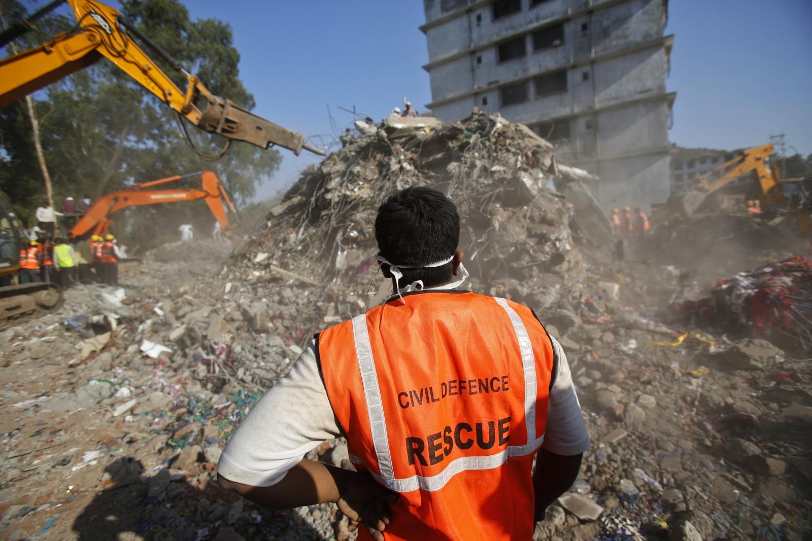India Mumbai Thane building collapse