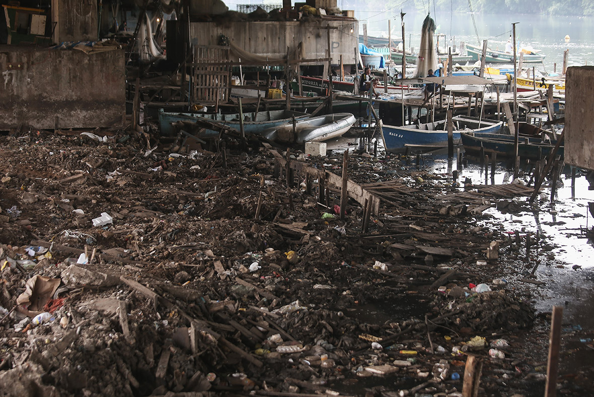 Rio 2016 Olympic water sewage