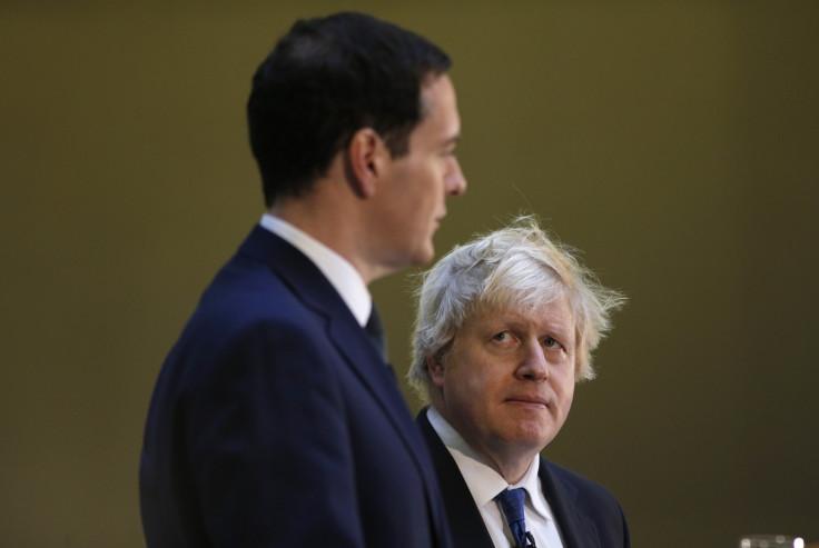 George Osborne and Boris Johnson