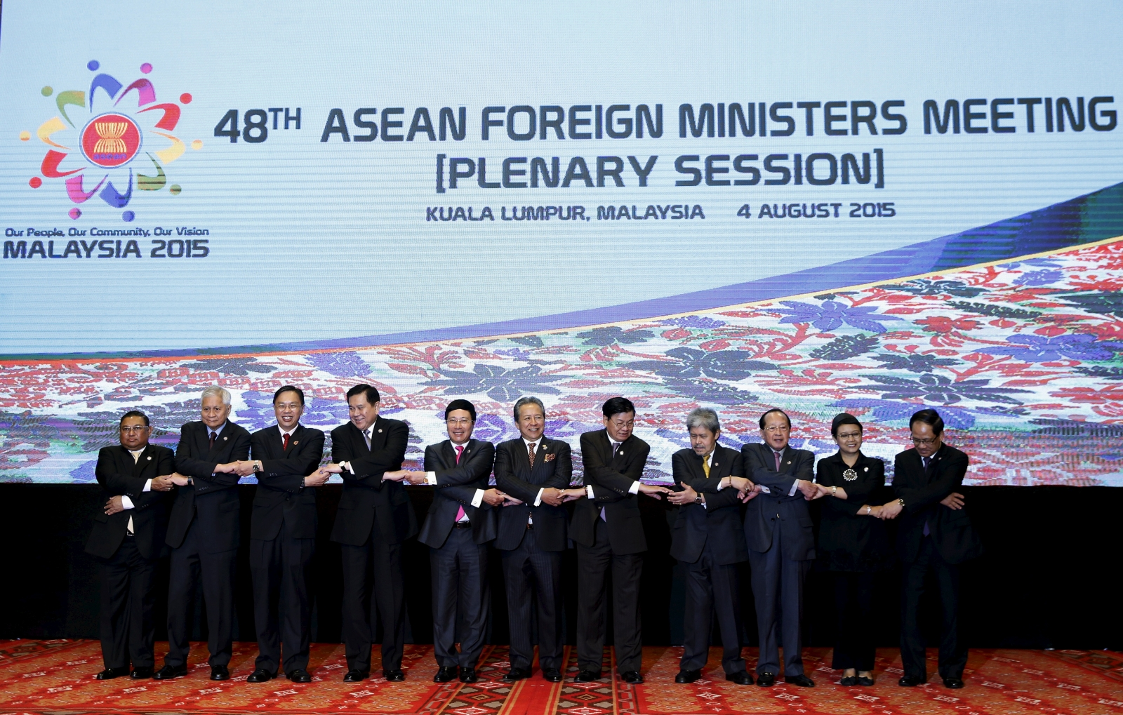 Asean foreign ministers