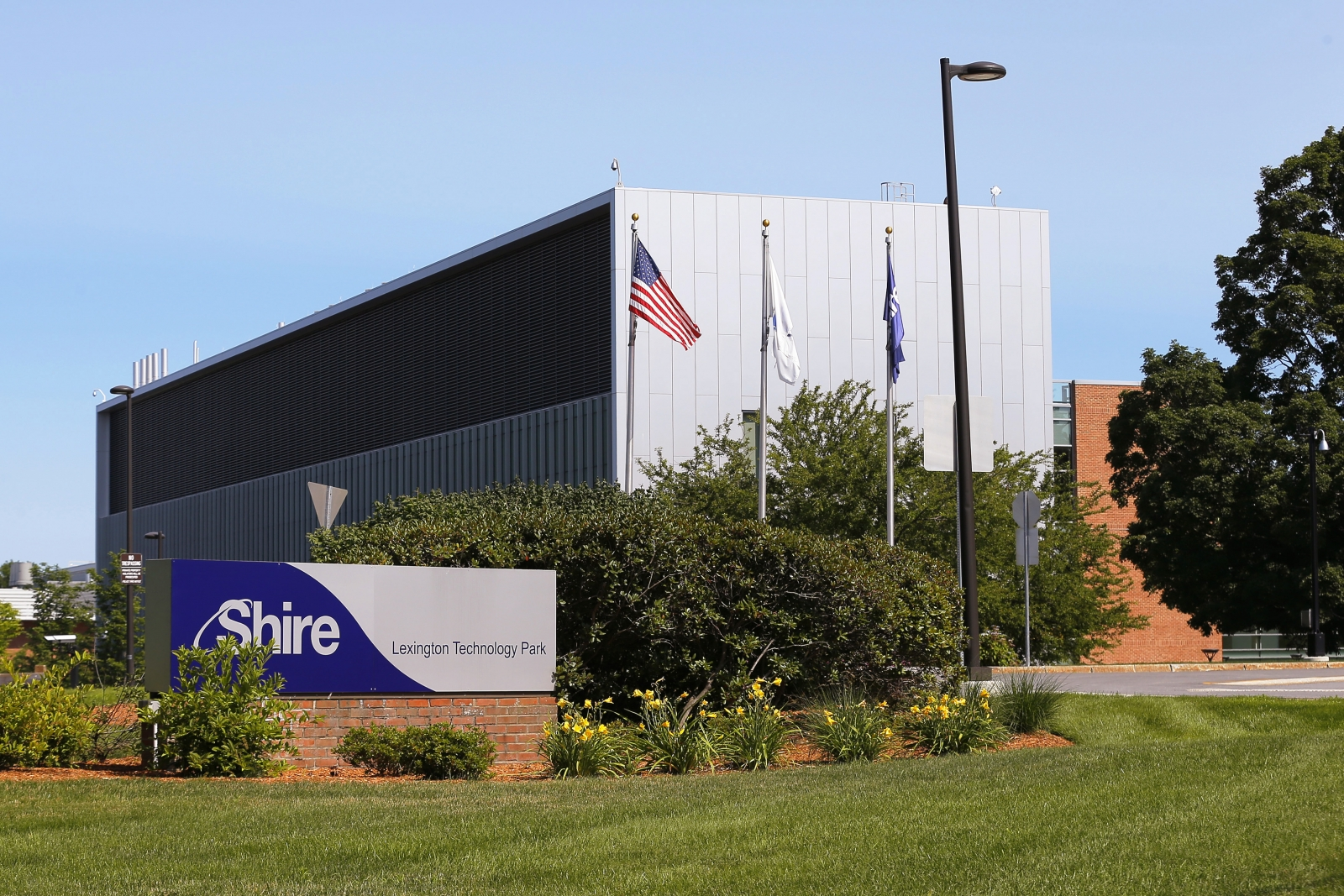 Shire's manufacturing facility in Lexington
