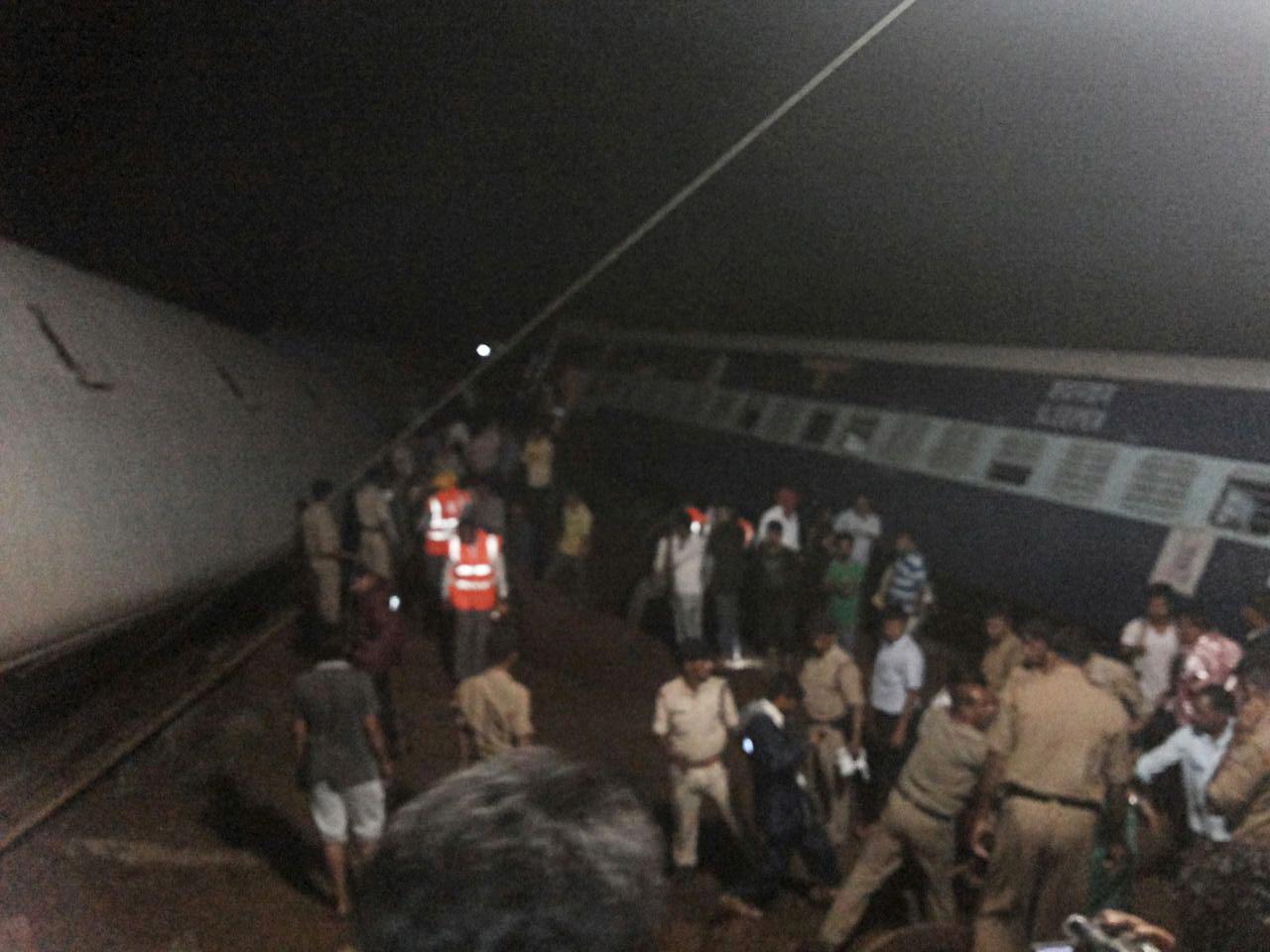 India train accident Madhya Pradesh