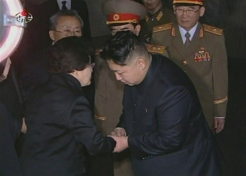 Lee Hee-ho & Kim Jong-un