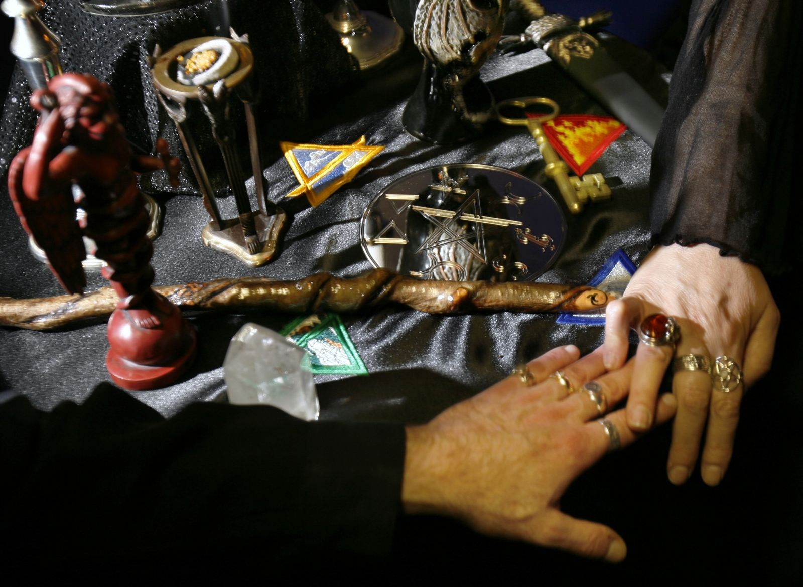 Wiccan ritual killings