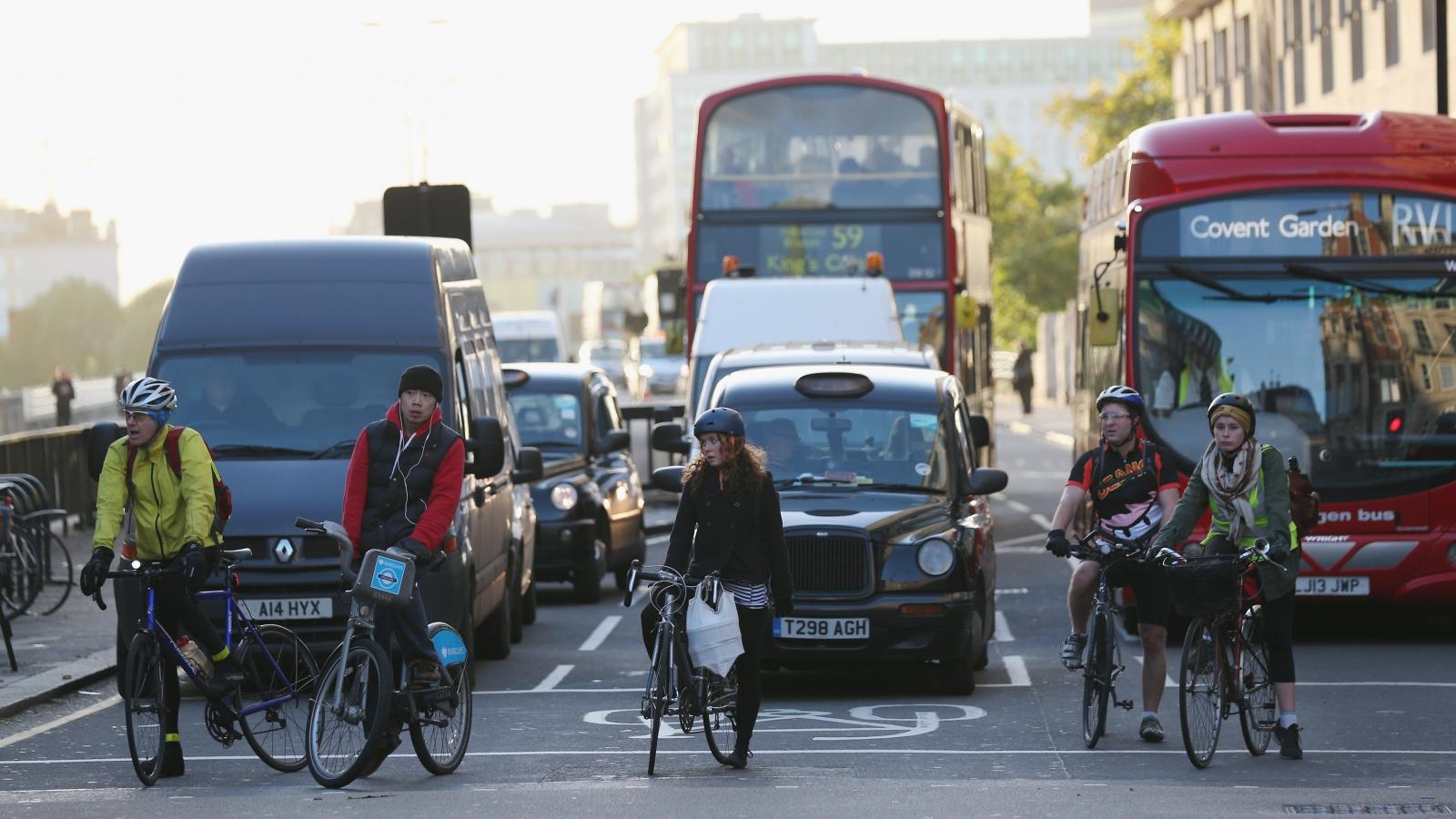 Cyclists London