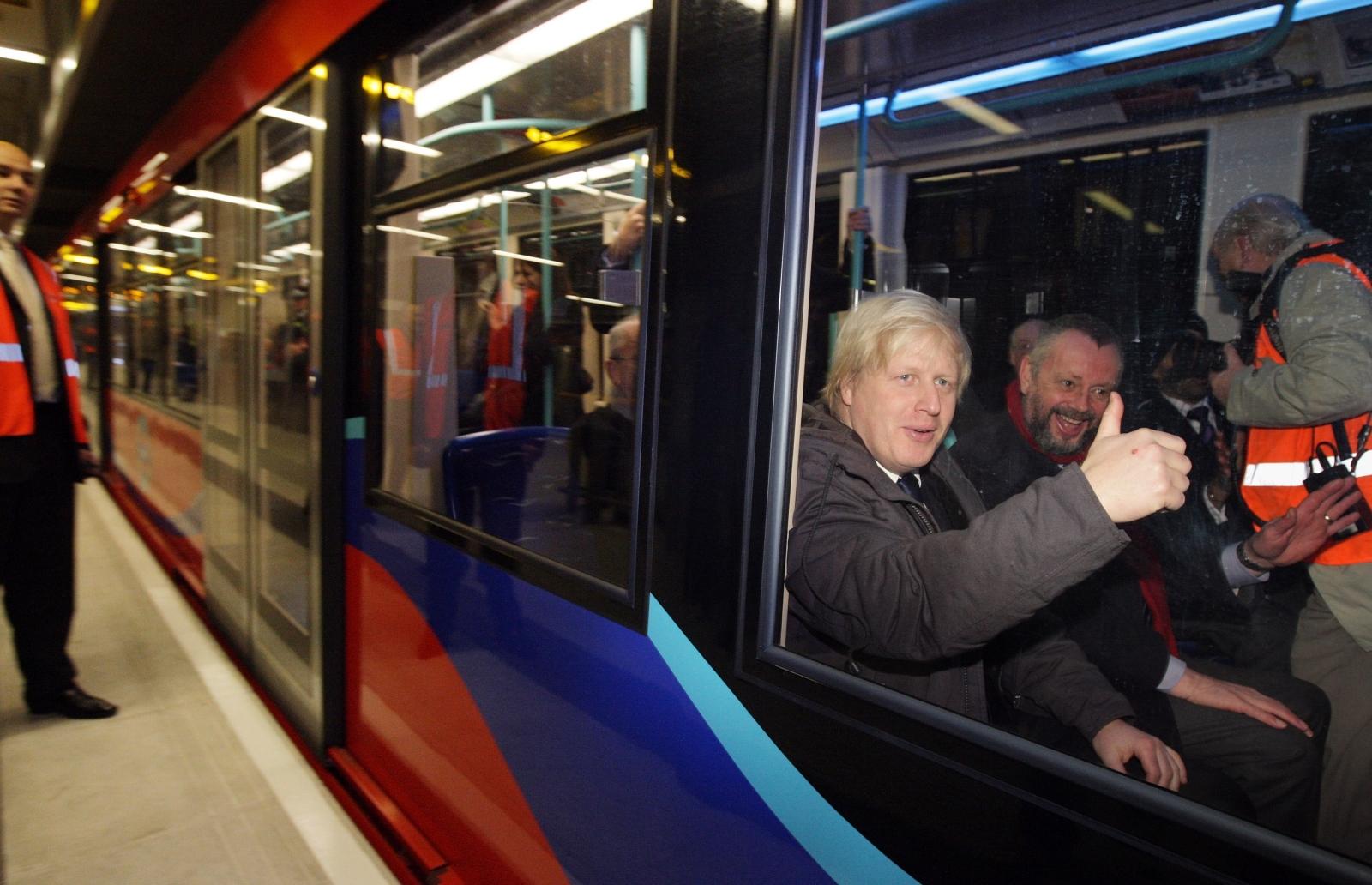 Boris Johnson tube strikes