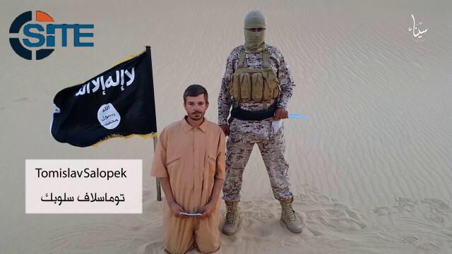 Isis Croat hostage Muslim captives