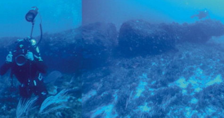 underwater stonehenge