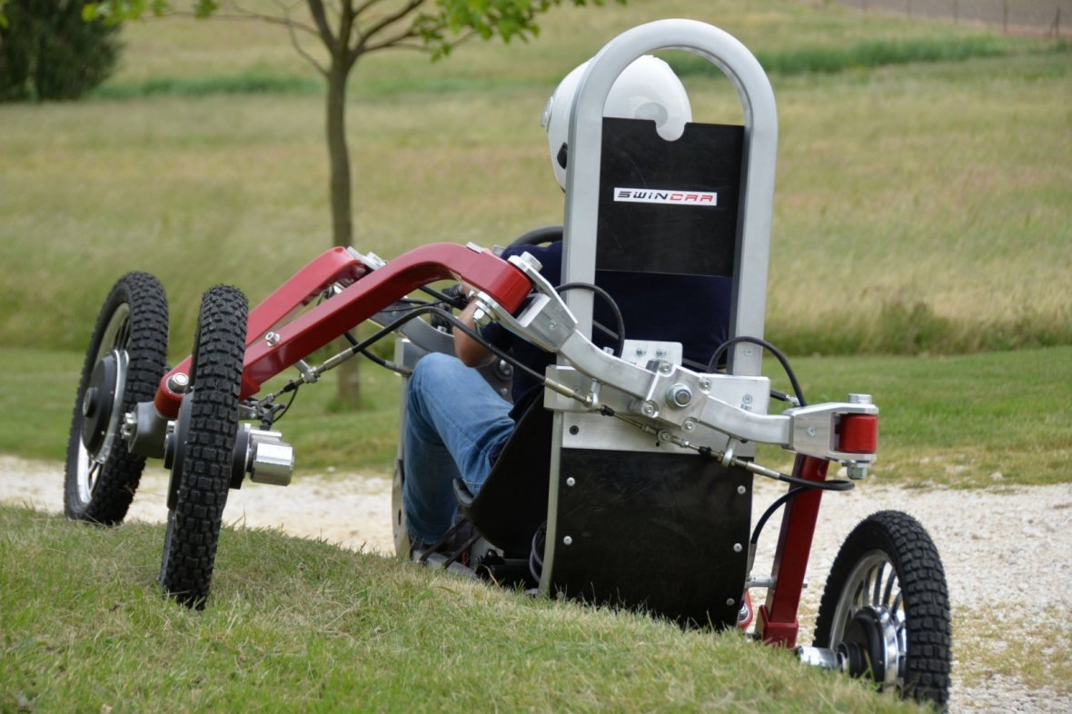 Swincar could be helpful for disabled people