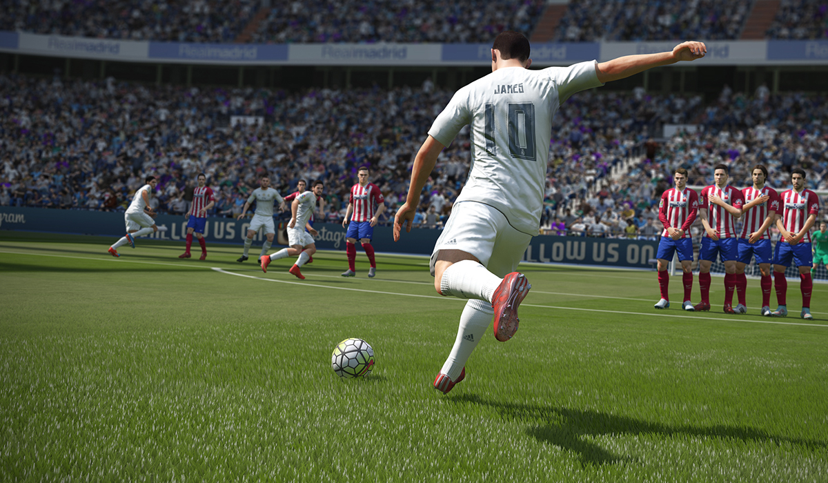 Fifa 16 James Rodriguez Real Madrid