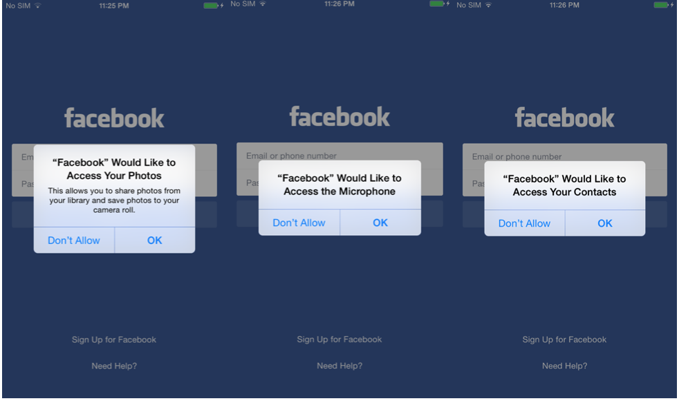 Masque attack Hacking Team Facebook app
