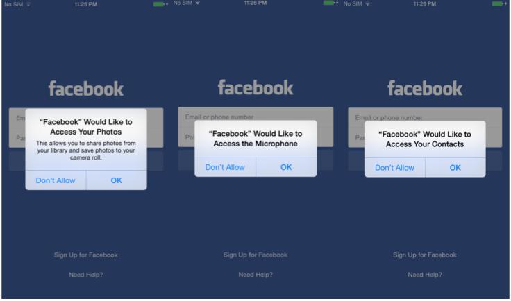 Masque attack Hacking Team Facebook app
