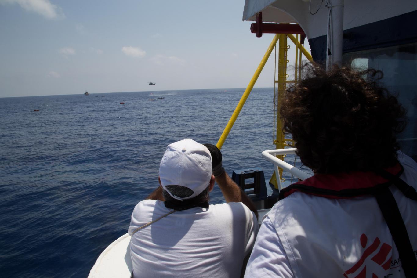 MSF rescue boat