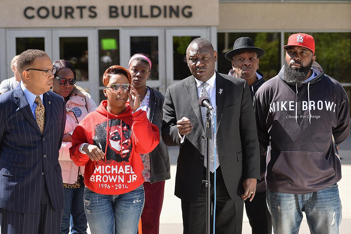 Ferguson michael brown