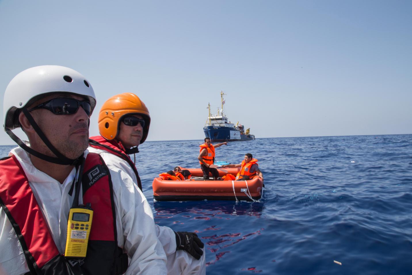 Mediterranean migrant tragedy MSF Dignity 1