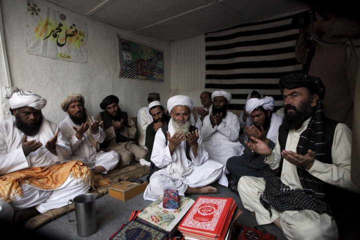 Taliban prayers