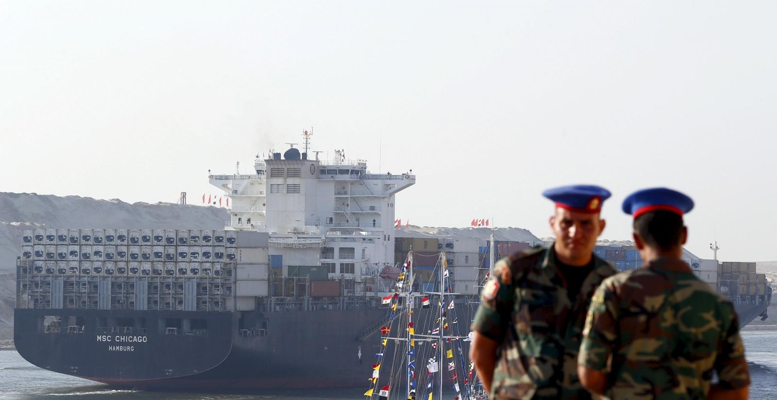Egypt Suez Canal inauguration