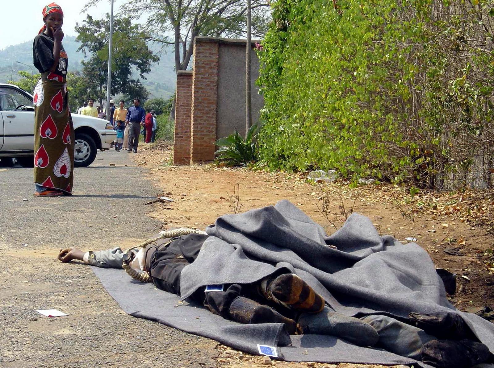 Burundi civil war 2003