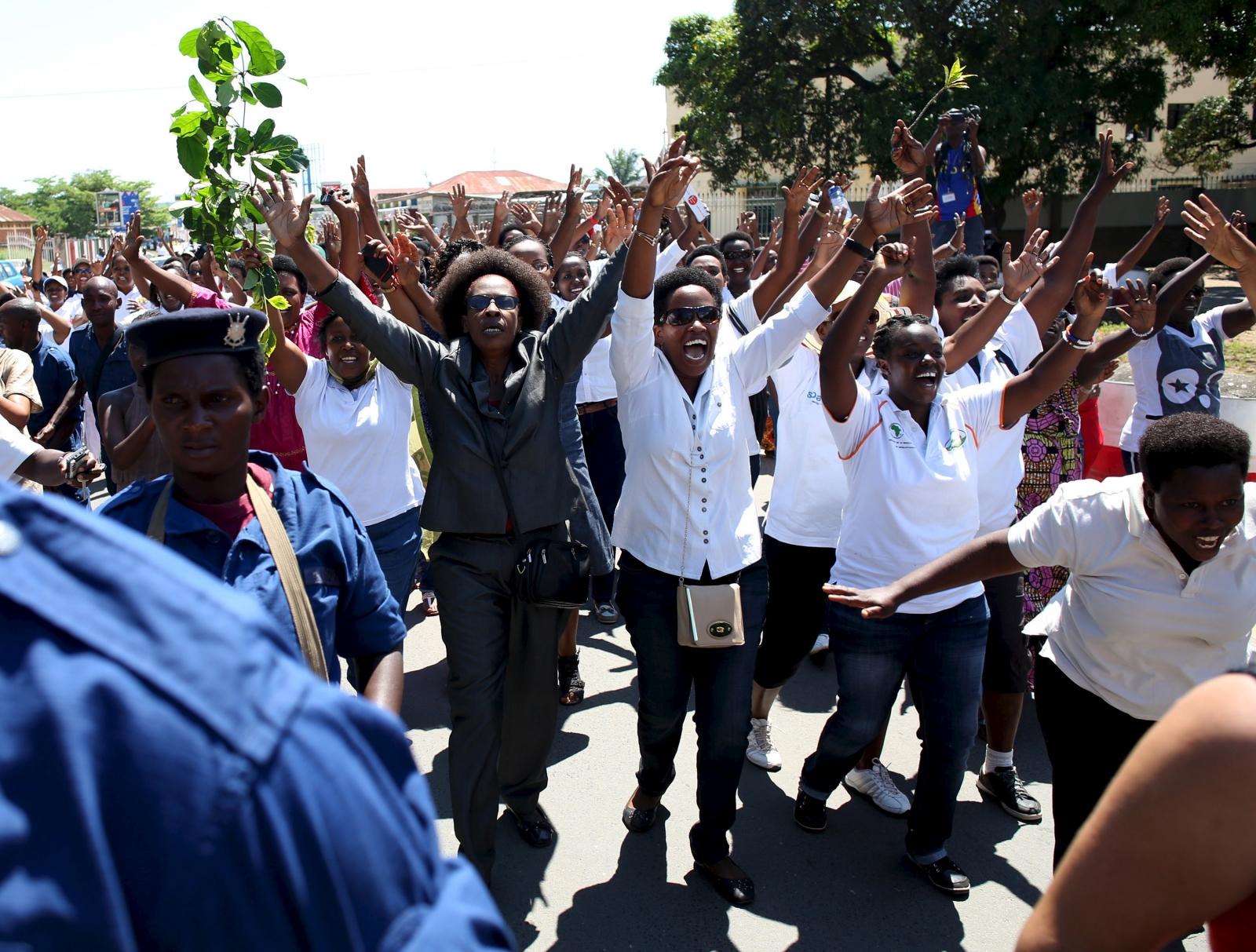 Burundi women's march
