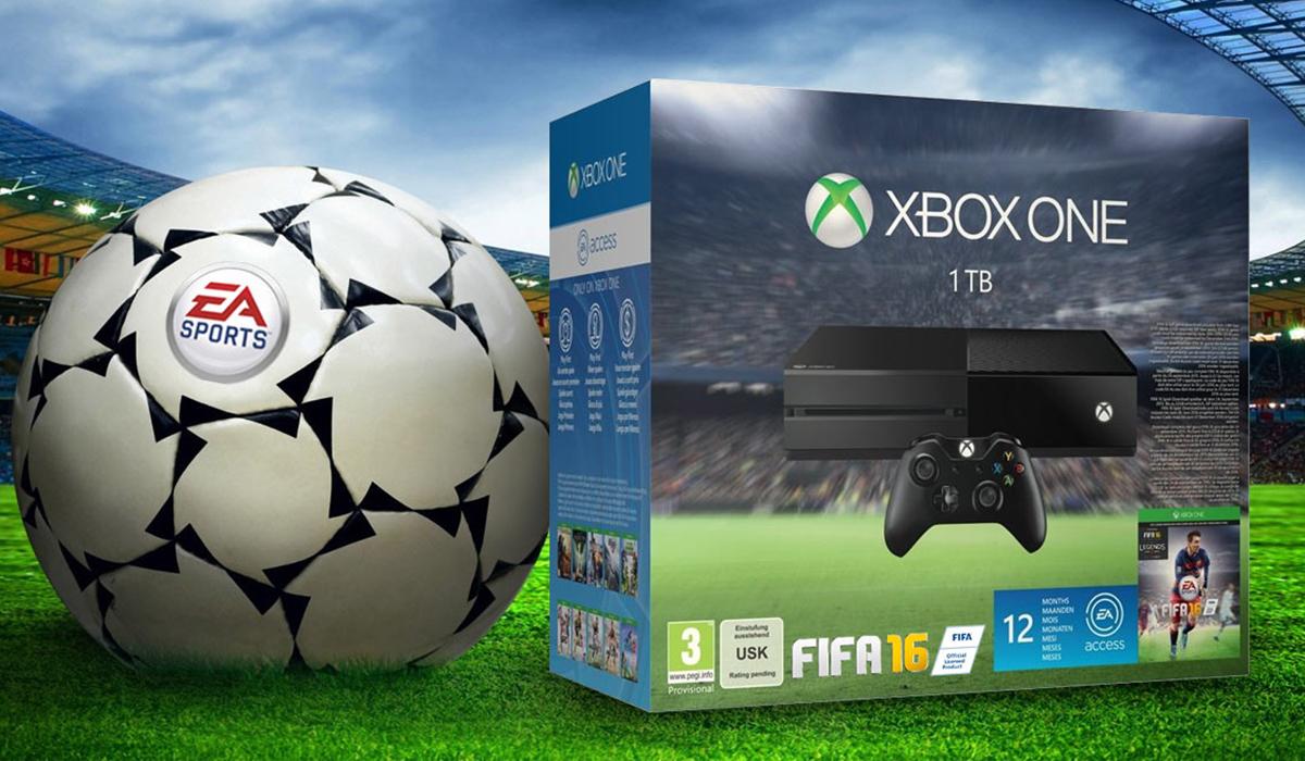 Fifa 16 Xbox One bundle