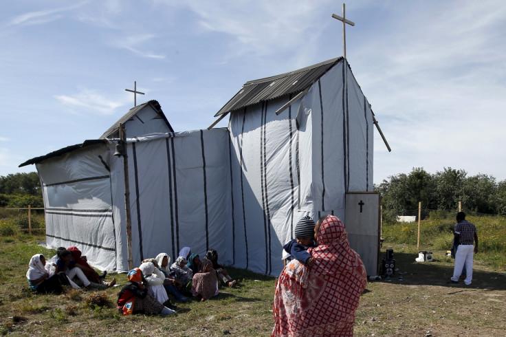 Calais migrant church