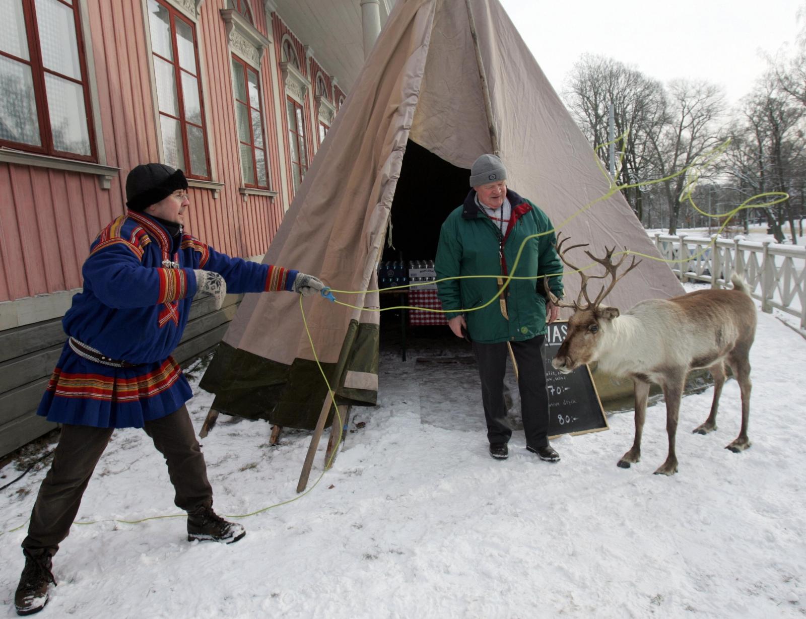 Sami Lapp people