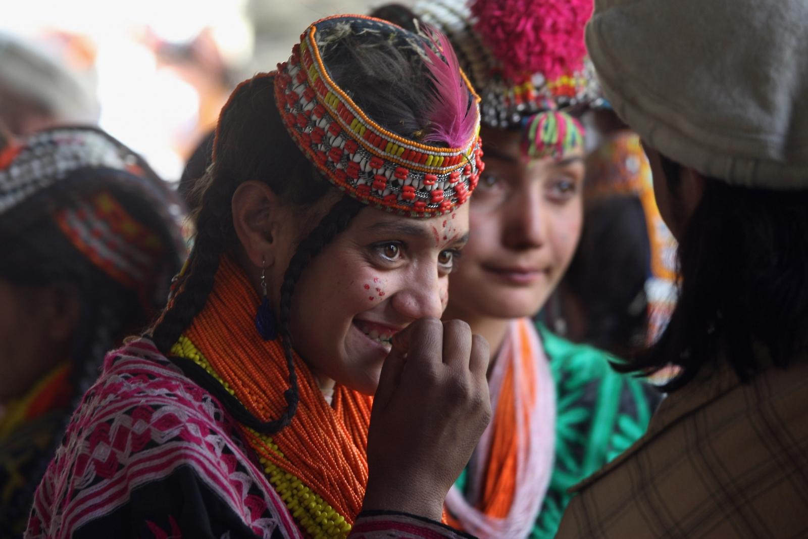 Kalash people Pakistan