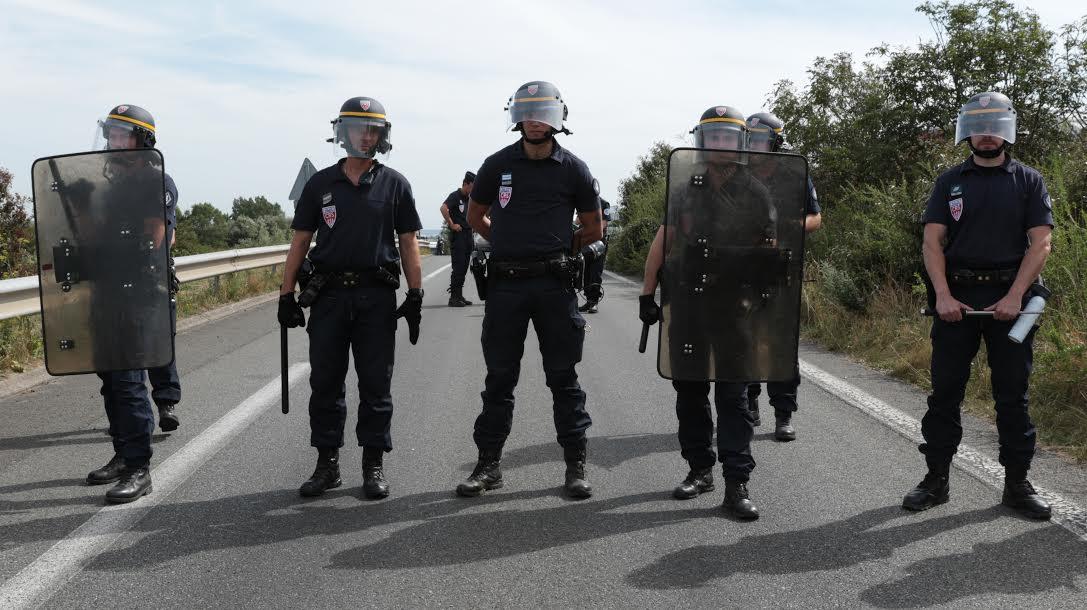 French Police Calais