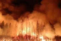 Wildfire Spain