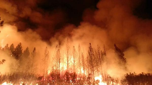 Wildfire Spain