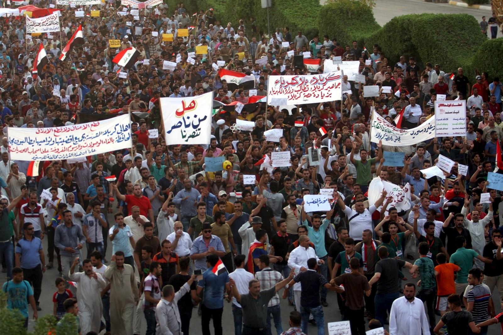 Iraq PM Abadi political reforms