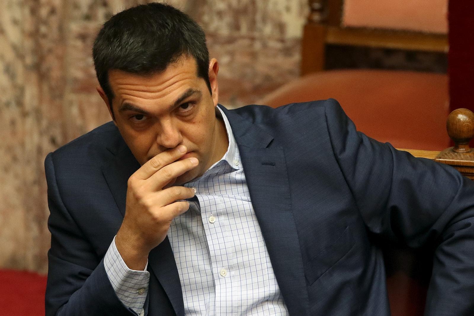 Former Greek PM Alexis Tsipras